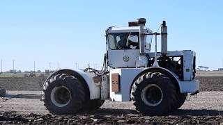 Wise Bros. Inc. Plowing with Big Bud & 9 Bottom Plow - 10/20/2018
