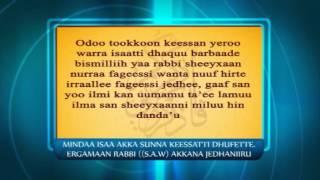 qunnamtii saalaa dura duaaii godhachuu | المأمورات الشرعية -الدعاء قبل الجماع