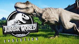 Unlocking the T-REX! - Jurassic World Evolution Gameplay