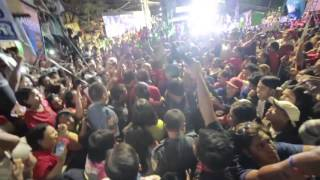 Duterte with TONDO Crowd During Proclamation Rally
