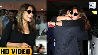 Bipasha Basu's BEST Reaction On Seeing Karan Singh Grover At The Airport | LehrenTV