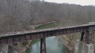 See What The Isolated Wooded Area Where 2 Indiana Teens Were Murdered Looks Like
