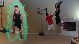 EPIC HOUSE 1 V 1 KING OF THE COURT! MINI BASKETBALL CHALLENGE