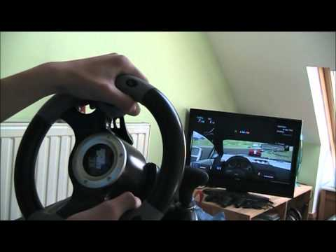 Datel Super Sports 3X Steering Wheel Small Gameplay+Overview