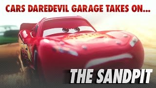 Disney Pixar Cars | The Die-cast Series Ep. 5 | Takes on the Sandpit