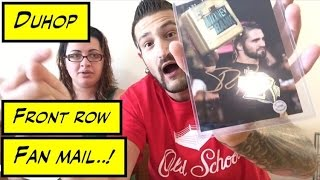 Duhop FRONT ROW FAN MAIL With Sister Olivia