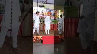 Independence day celebration in ansh college in Gwalior