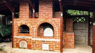 DIY Brick Oven Construction