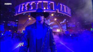 Undertaker makes his entrance: WrestleMania 27