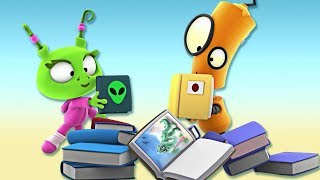 Cartoon | Rob The Robot - Ep#14 Origami Whammy | Cartoons For Babies | Oddbods & Friends