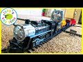 Download Video Download BIGGEST STEAM TRAIN TOY EVER?! Fun Toy Trains with MR. FUZZY 3GP MP4 FLV