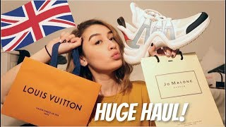 UK HAUL! *Louis Vuitton, LUSH, Victoria's Secret, Etc!* | Natasha Ryder