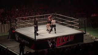 Ronda Rousey vs Nia Jax WWE Live Santiago