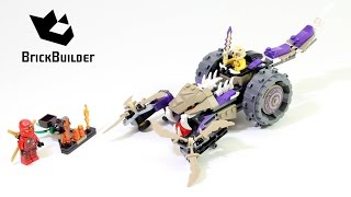 Lego Ninjago 70745 Anacondrai Crusher - Lego Speed build