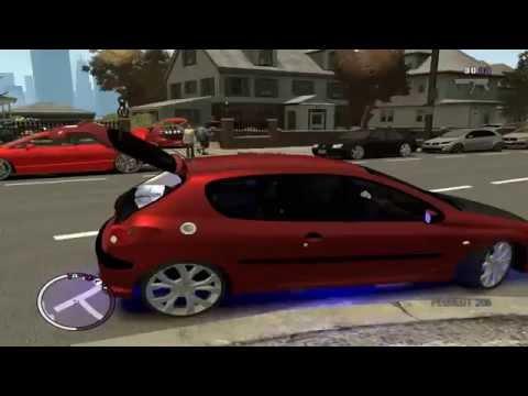 Gta IV EFLC Garagem cheia de carros com som automotivo