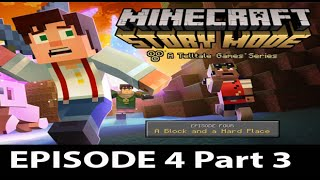 Minecraft Story Mode Episode 4 Walkthrough Part 3 - No Commentary Gameplay