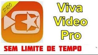 Como salvar um video com mais de 5 minutos pelo VivaVideo