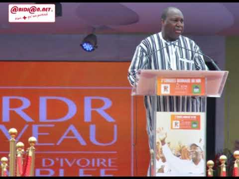 3e Congrès du RDR: le message du président Zephirin Diabré