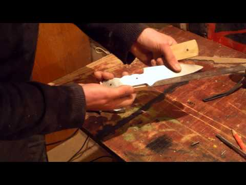 Как сделать нож из диска циркулярной пилы