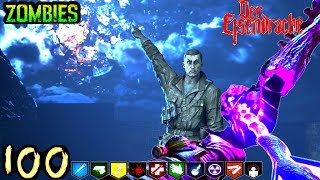 DER EISENDRACHE ROUND 100 BOSS FIGHT COMPLETE! BLACK OPS 3 Zombies (Best Stream Ever?)
