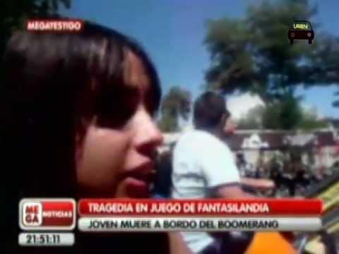 Reportaje de una joven que muere en Fantasilandia