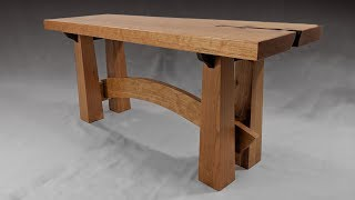 Building a Bench - Japanese Style - Woodworking