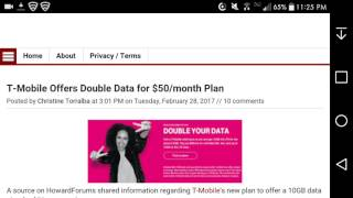 T-Mobile Offers Double the Data (10GB) for $50 a Month