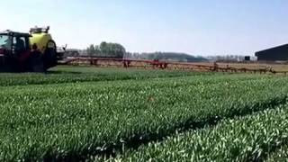 MagGrow system retro-fitted on the Kverneland sprayer in the Netherlands