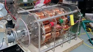 DC40V 3Phase Neodymium Magnet Cogging Less Generator