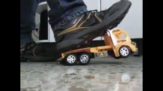 crush toy truck