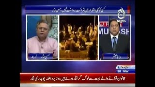 Hassan Nisar in Aaj Rana Mubashir Kay Sath - 30th March 2016