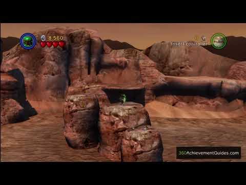 LEGO Star Wars TCS Minikit Guide Episode IV Through The Jundland Wastes