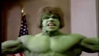 El Juicio Del Increíble Hulk -Video- 1988