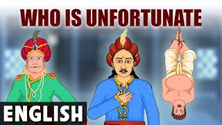 Who is Unfortunate? - Akbar And Birbal In English - Animated / Cartoon Stories For Kids