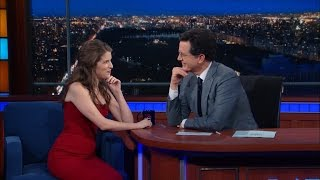 Anna Kendrick Geeks Out And Sings With Stephen