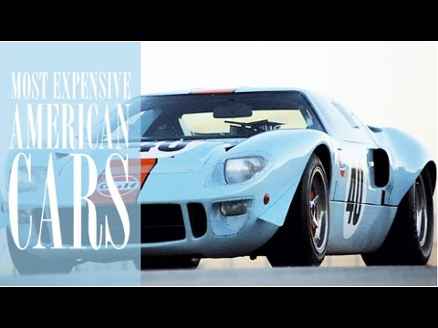 Top 10 Most Expensive American Cars Ever Sold