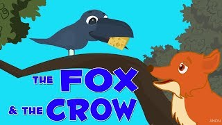 English Stories For Kids | The Fox And The Crow | Short Stories With Moral For Children