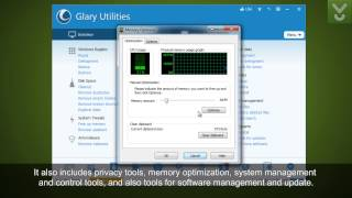 Glary Utilities Slim - Fix, speed up, maintain, and protect your PC - Download Video Previews