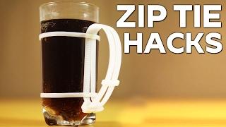 Useful Zip Tie Cable Hacks || #Mr.Tool