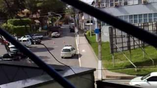 Fuga de assaltantes do Banco do Brasil de Gandu - dia 07/04/2009
