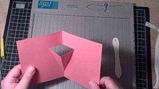 Vase Pop-Out  Card using a Scor-Pal