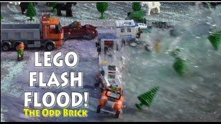 LEGO Flash Flood - An Earthquake Unleashes a Flood of Water