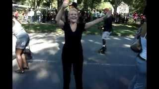 Central Park Skating Dancers PT-5  Just Having a Great Time !