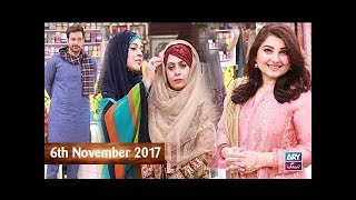 Salam Zindagi With Faysal Qureshi - Javeria Saud & Uzma Akhtar  - 6th November 2017