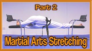 Martial Arts Stretching Tutorial Part 2 (Get High Kicks/Splits)