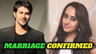 Bollywood News l Varun dhavan and Natasha Dalal Marriage confirmed