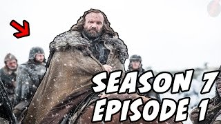 FIRST PICS!!! Game Of Thrones Season 7 EPISODE 1!