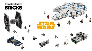 Lego Star Wars Solo A Star Wars Story Compilation of All Sets