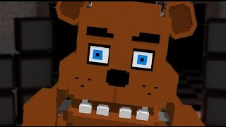 Minecraft Xbox One - FIVE NIGHTS AT FREDDY'S ( Custom Nights Survival on Minecraft Xbox 360, XB1 )