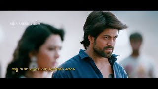 Yash Powerfull Dialogue and Mass Fight Scene | Radhika Pandit | Mr And Mrs Ramachari